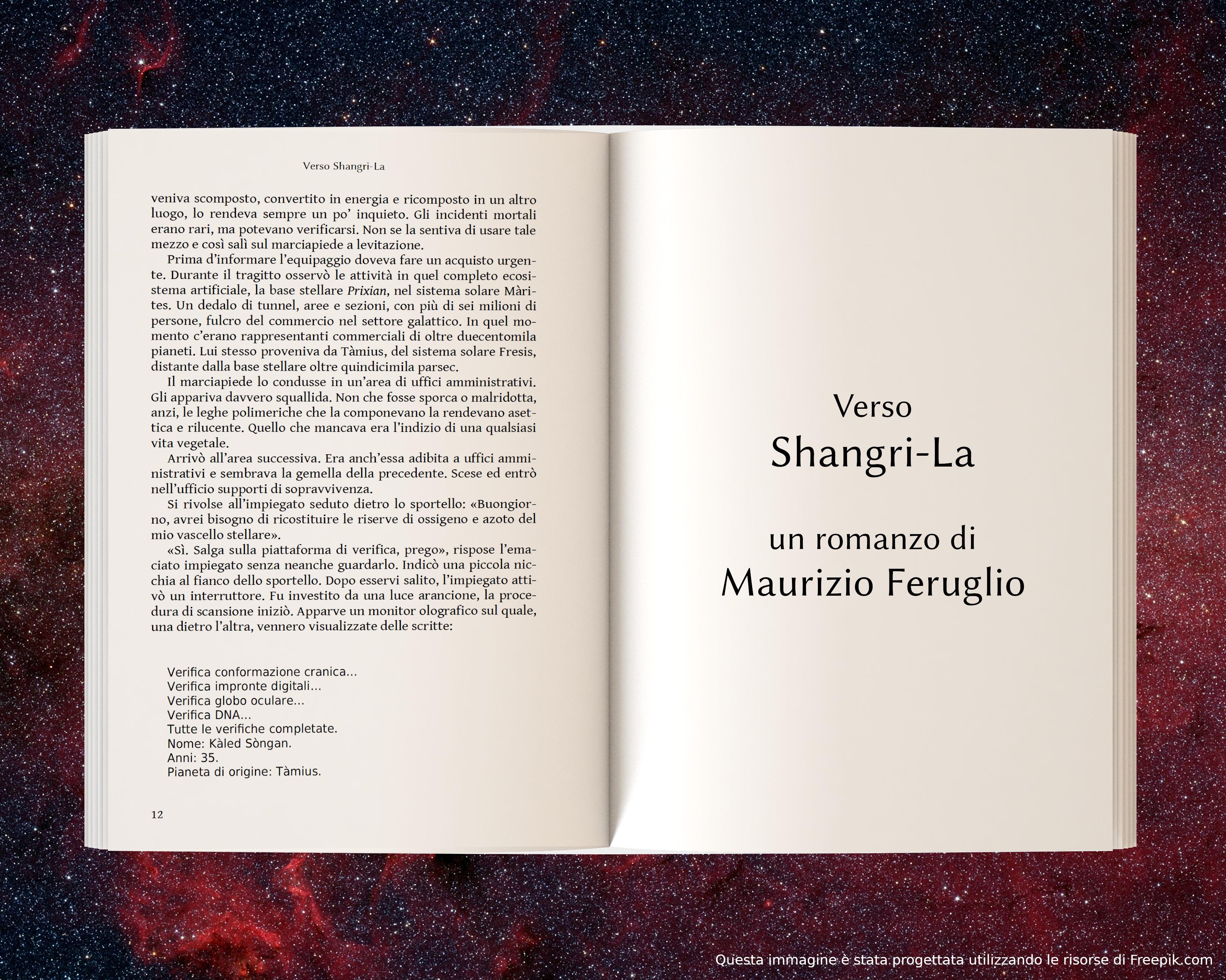 Prixian, parte seconda - anteprima di Verso Shangri-La di Maurizio Feruglio