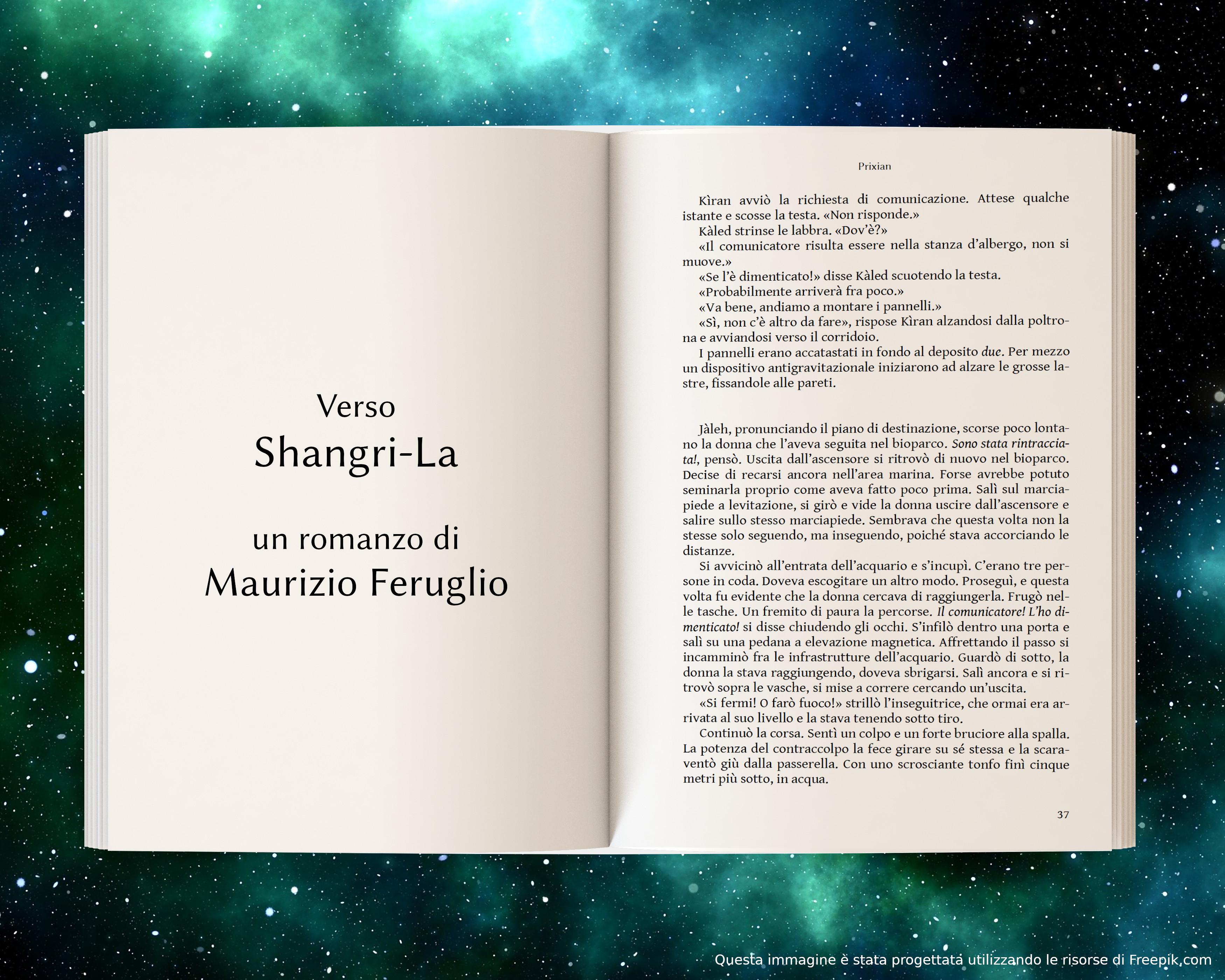 Jàleh braccata - anteprima di Verso Shangri-La di Maurizio Feruglio