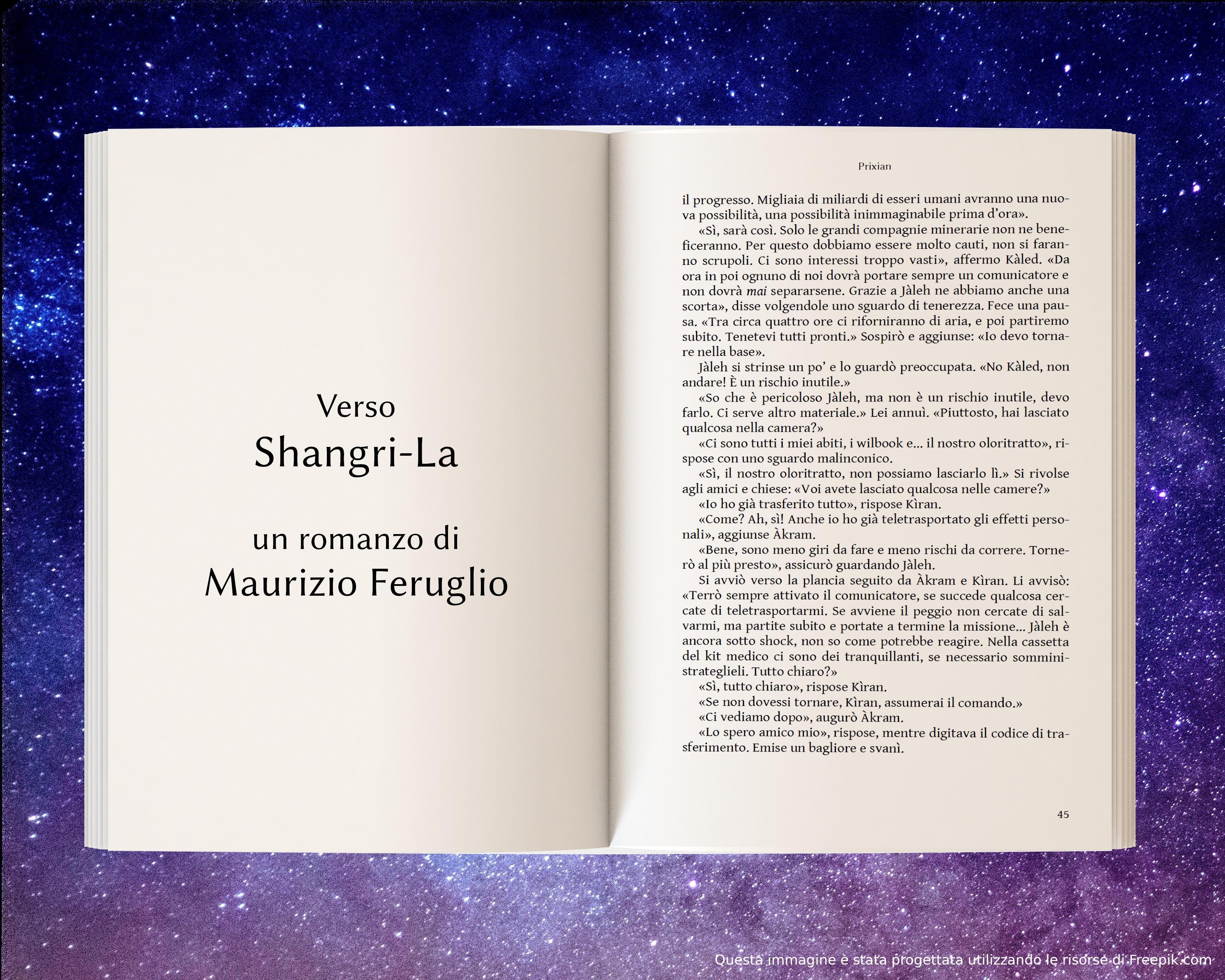 Ritorno a Prixian - anteprima di Verso Shangri-La di Maurizio Feruglio
