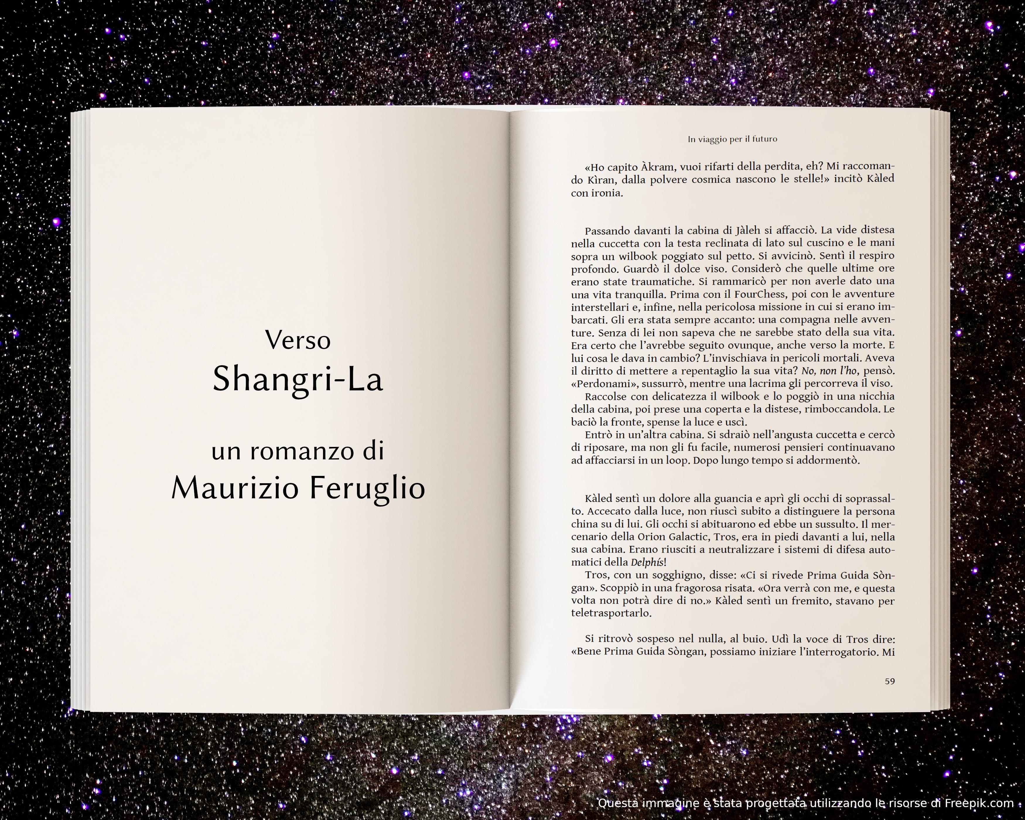 Prigionieri di Tros, parte prima - anteprima di Verso Shangri-La di Maurizio Feruglio