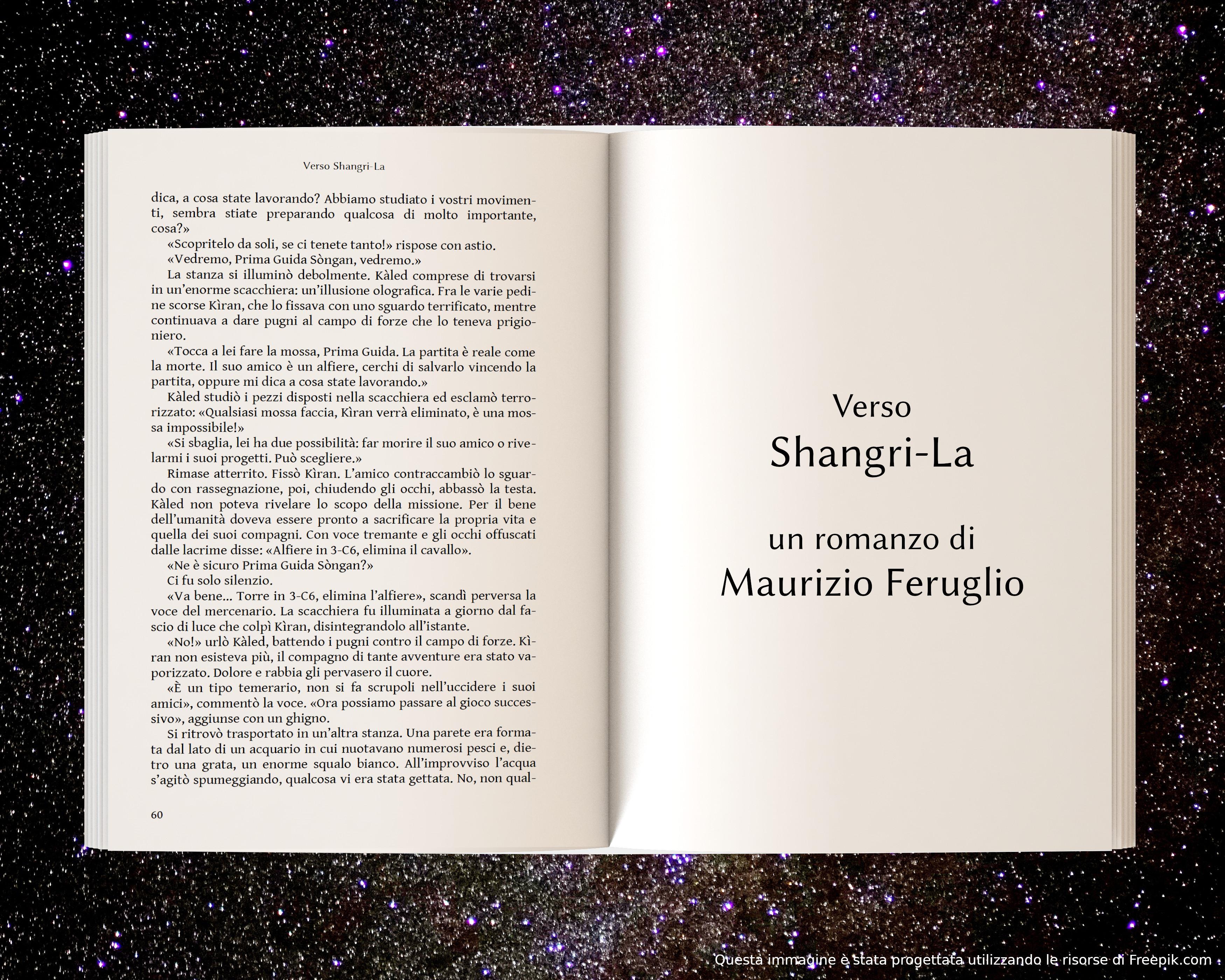 Prigionieri di Tros, parte seconda - anteprima di Verso Shangri-La di Maurizio Feruglio
