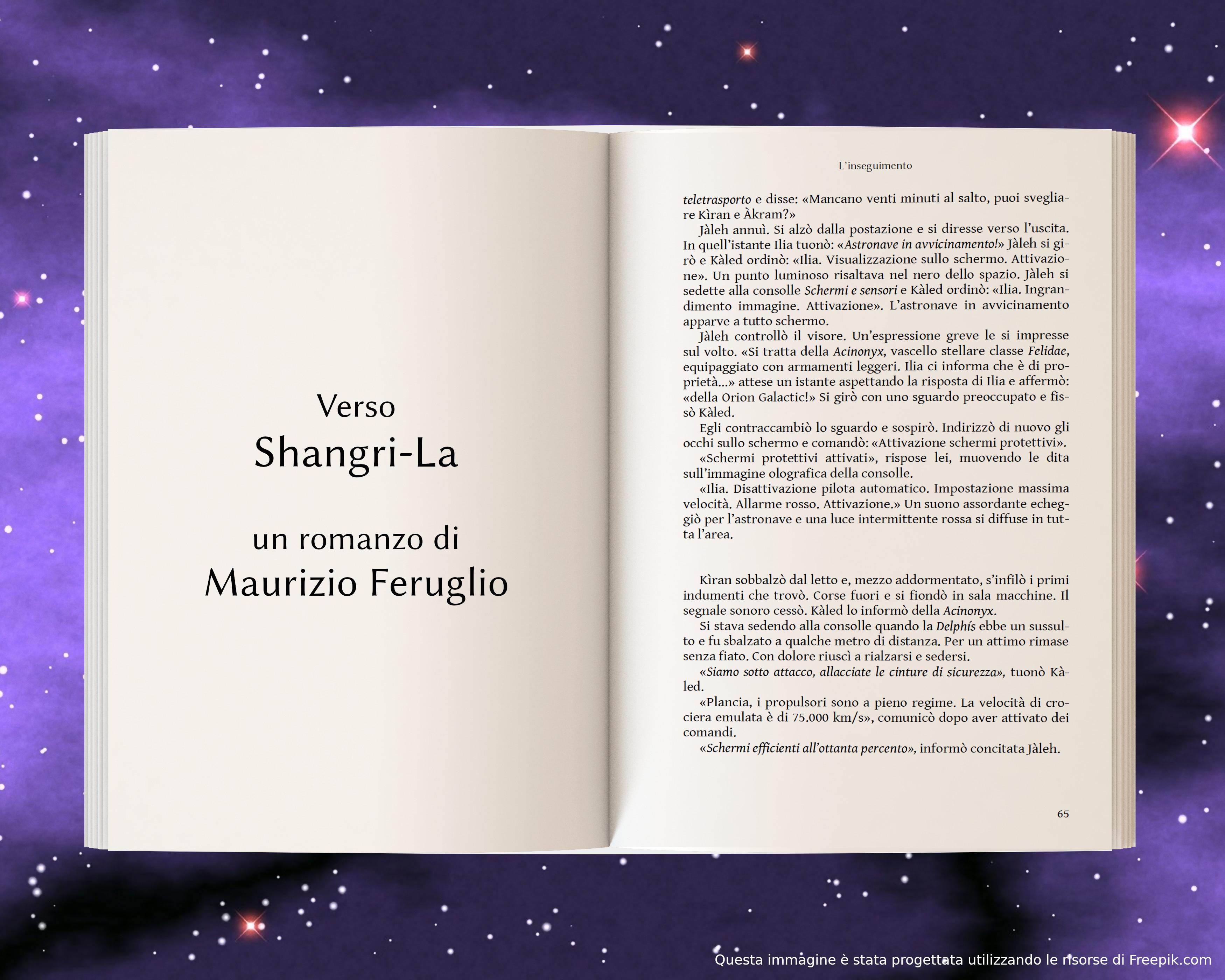 Attacco alla Delphìs - anteprima di Verso Shangri-La di Maurizio Feruglio
