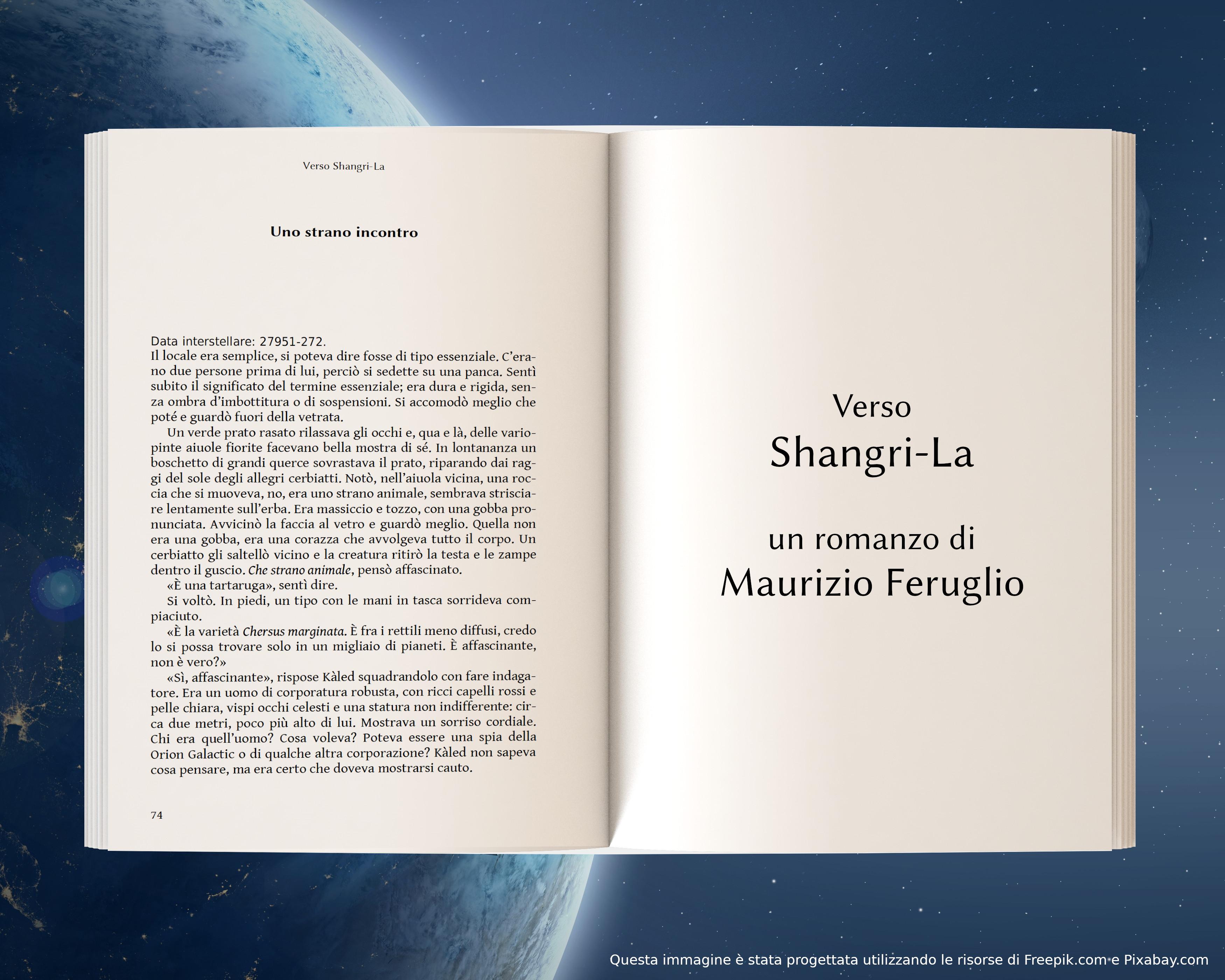 Uno strano incontro - anteprima di Verso Shangri-La di Maurizio Feruglio