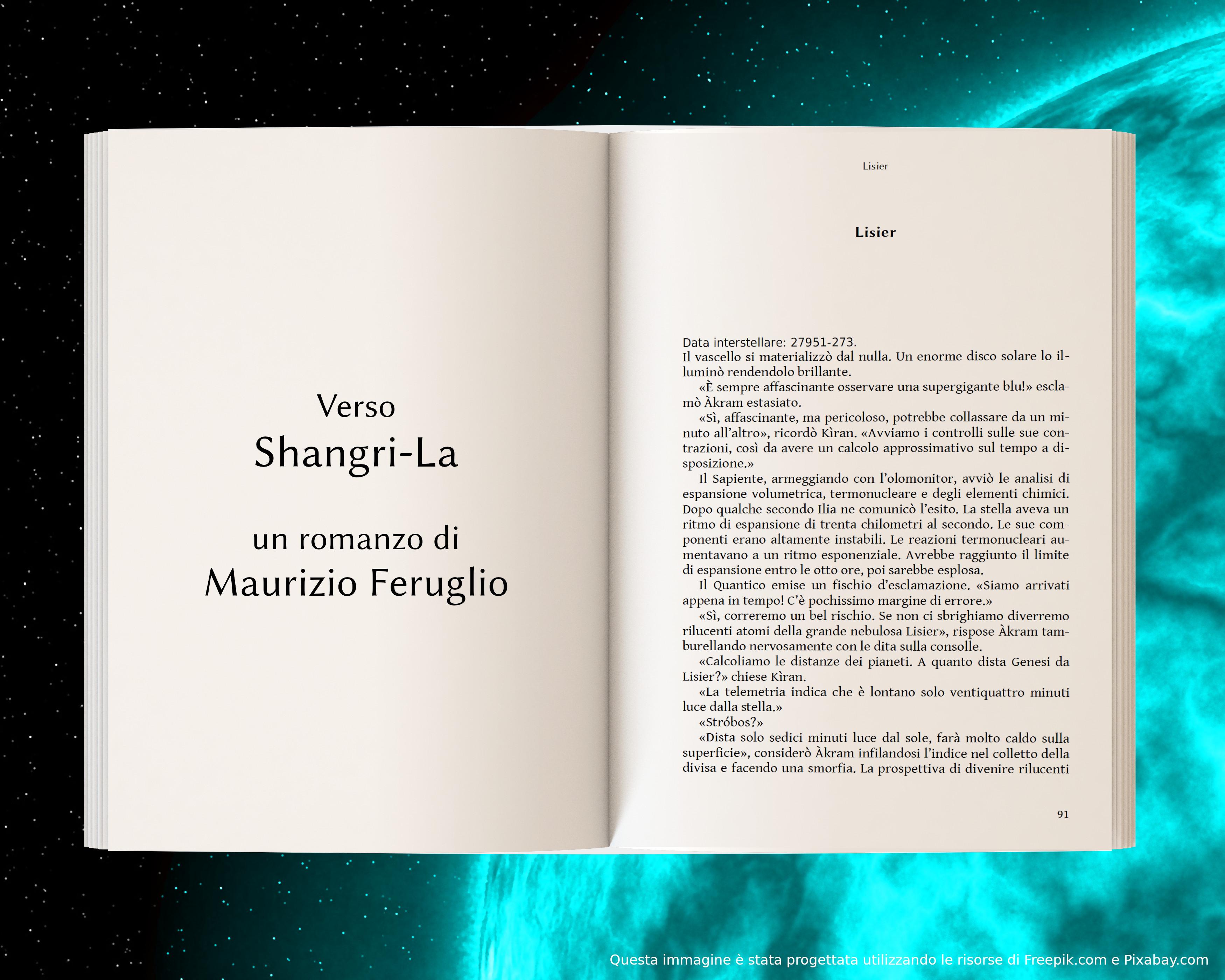 Lisier, parte prima - anteprima di Verso Shangri-La di Maurizio Feruglio