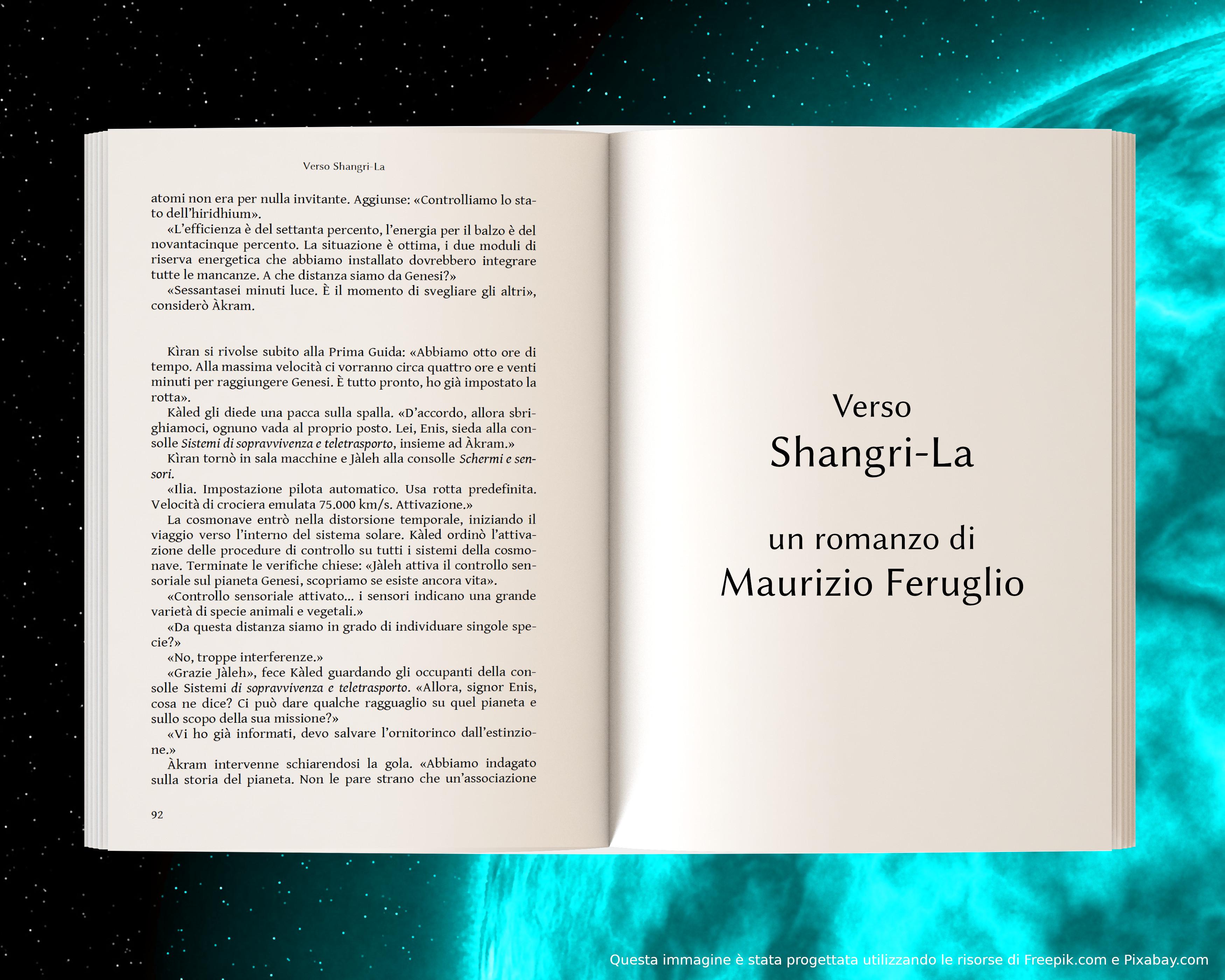 Lisier, parte seconda - anteprima di Verso Shangri-La di Maurizio Feruglio
