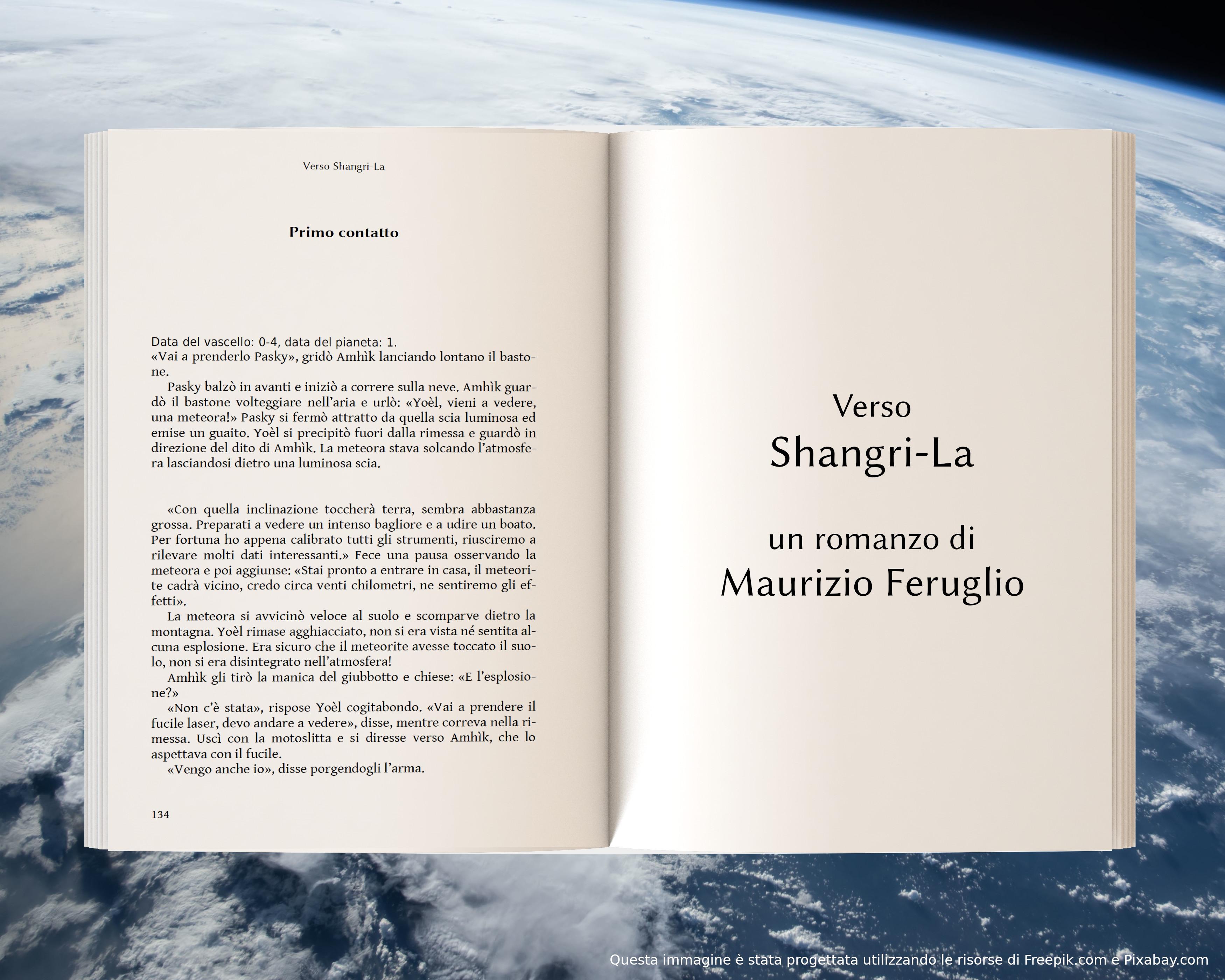 Primo contatto - anteprima di Verso Shangri-La di Maurizio Feruglio