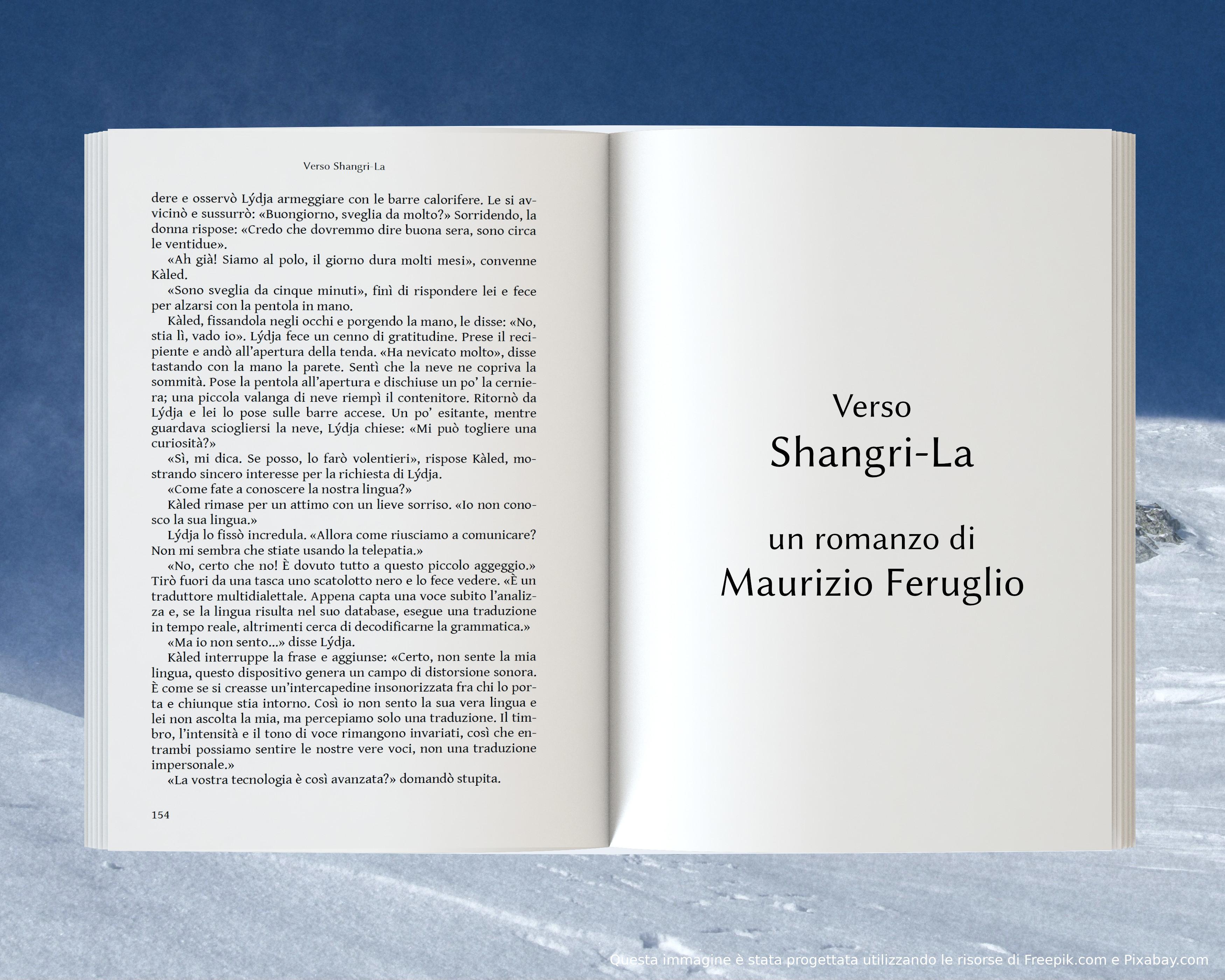 Comunicare - anteprima di Verso Shangri-La di Maurizio Feruglio