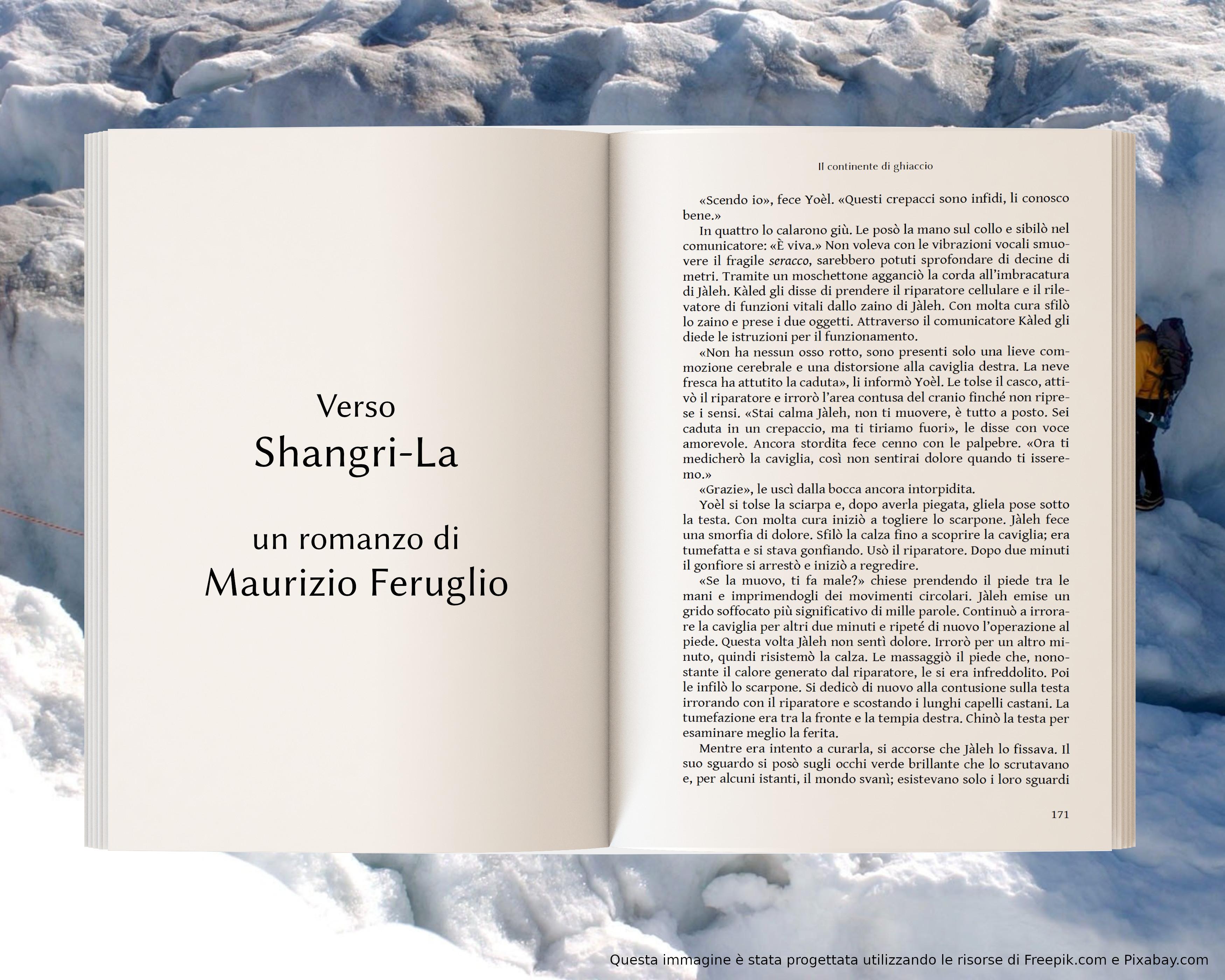 Crepaccio - anteprima di Verso Shangri-La di Maurizio Feruglio