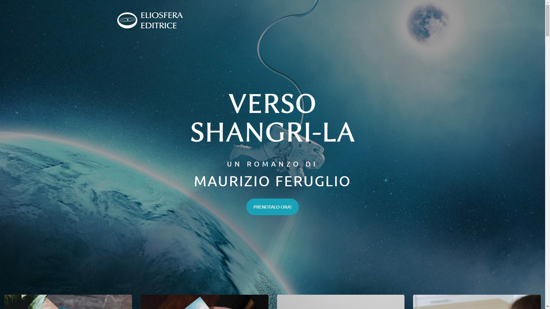 E online il sito www.verso-shangri-la.it, dedicato al romanzo Verso Shangri-La!