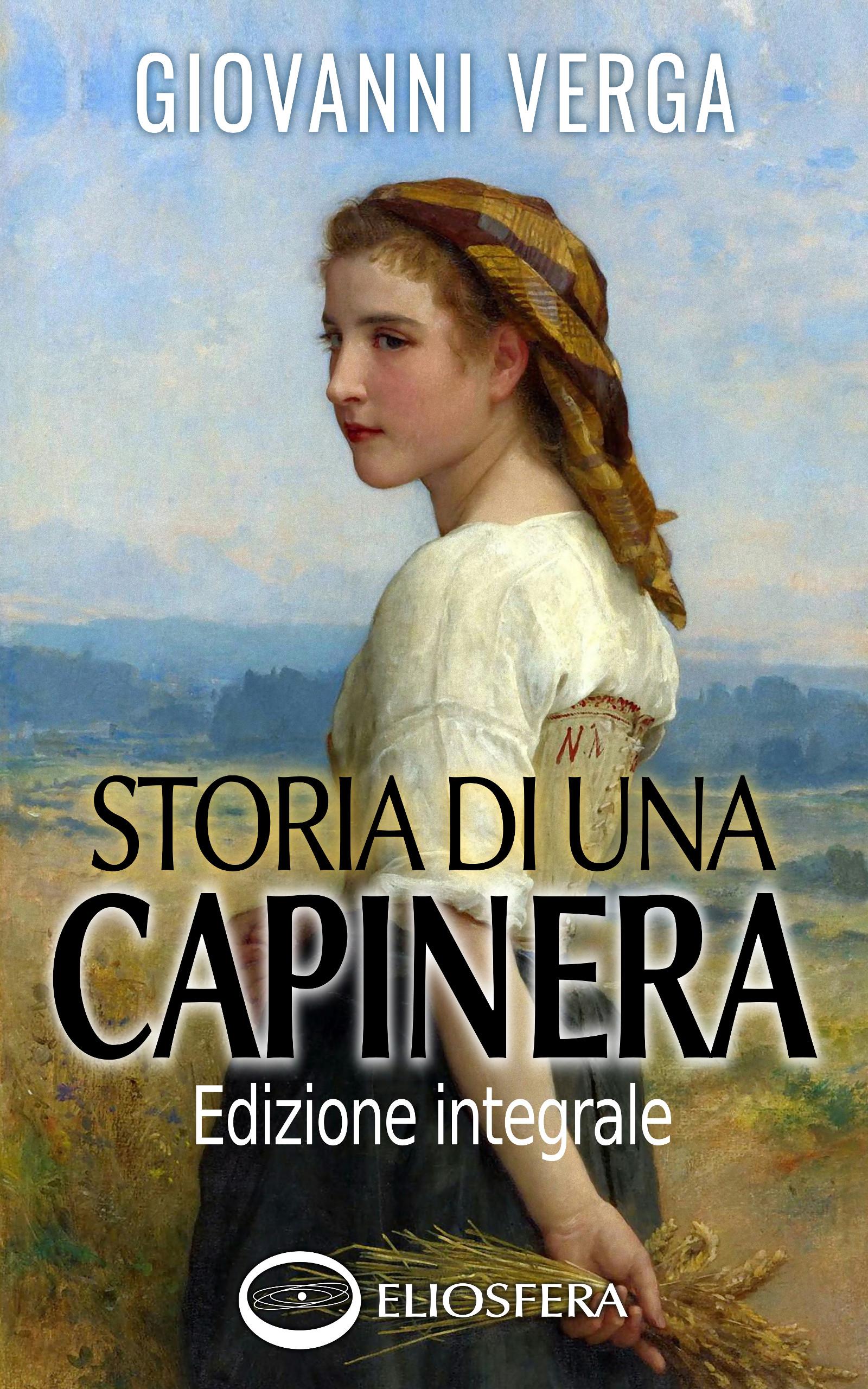 Copertina dell'ebook Storia di una capinera